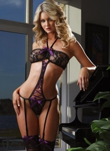 Picture of BODYSUIT PURPLE RIBBON